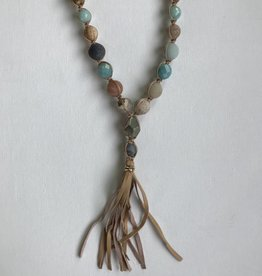 Sterling Amazonite Necklace