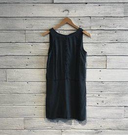 Bella Dahl Frayed Seams Dress