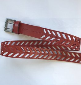 Finley Poppy Belt