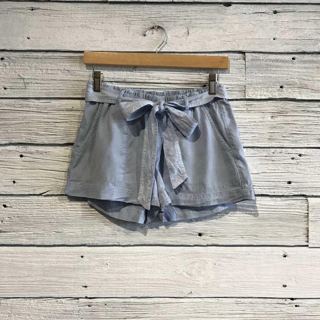 Bella Dahl Belted Easy Pocket Short Blue Sky