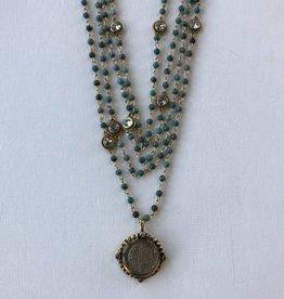 Virgins Saints & Angels San Benito Lux Magdelena turquoise