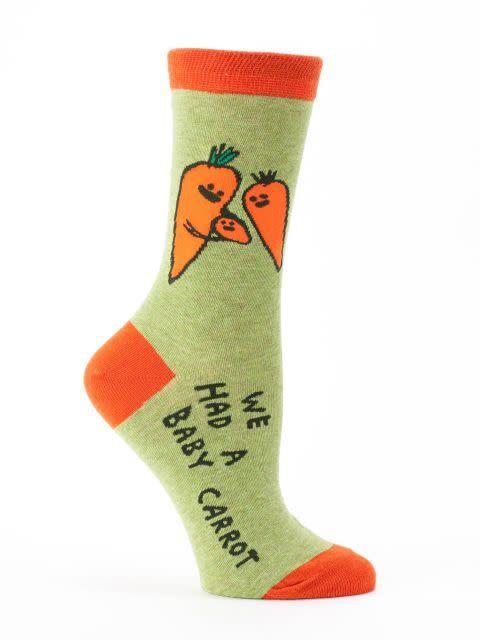 baby carrotts Crew Sock