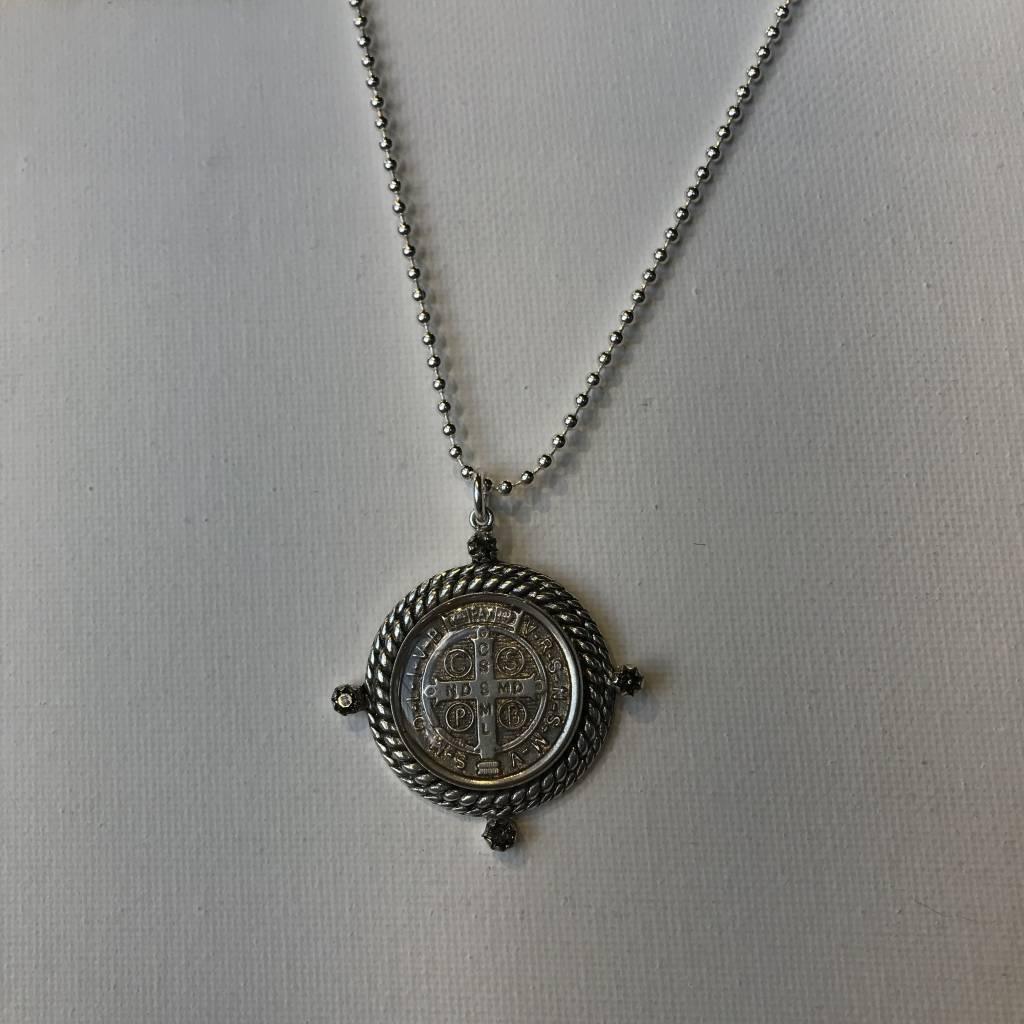 Virgins Saints & Angels Chain Miraculous San Benito