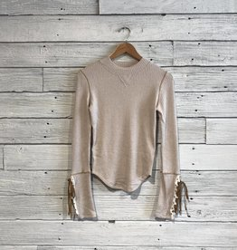 Free People Mountaineer cuff Top