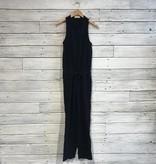 Bella Dahl straight leg jumpsuit black