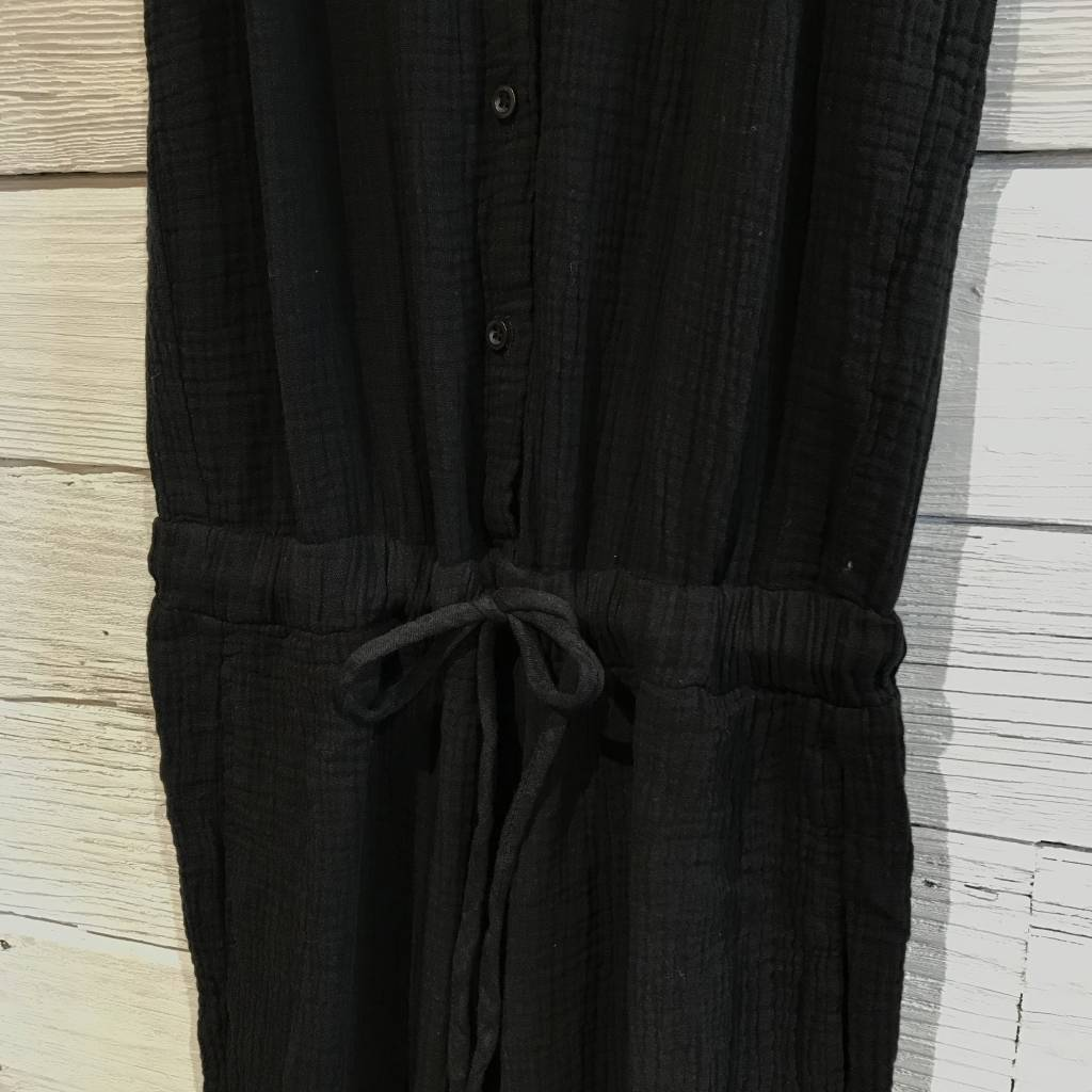 Bella Dahl straight leg jumpsuit black
