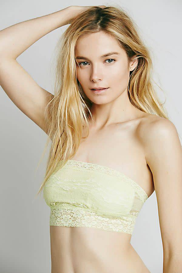 Free People Bandeau Scallop Lace