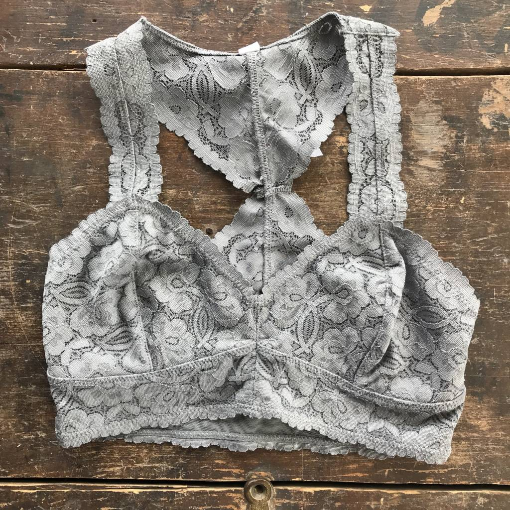 Free People Galloon lace bra