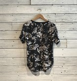 Lole Jazmin Top Black Winter Bloom