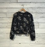Bobi Burnout Black longsleeve sweatshirt