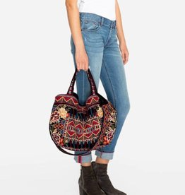 Johnny Was Marjan Velvet Tote