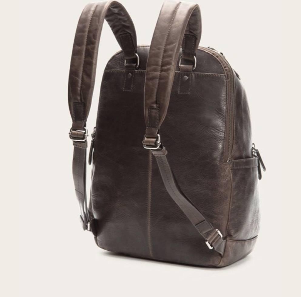 Frye logan backpack slate