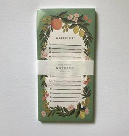 Market List Notebook