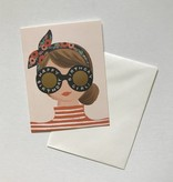 Rifle Paper Co. Blank Birthday Card Birthday Girl