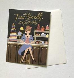 Treat Yourself Birthday Card
