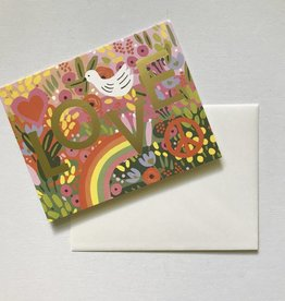Love Retro Card