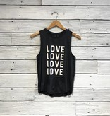 Spiritual Gangster Love Active Muscle Shirt