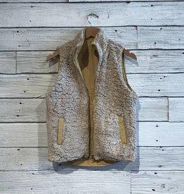 Reversible Marigold Mallow Vest