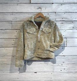 Lucky Brand Sherpa Tomboy Trucker Jacket