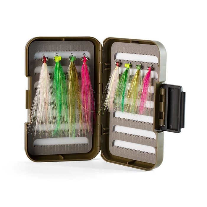 Hooké striped bass fly box