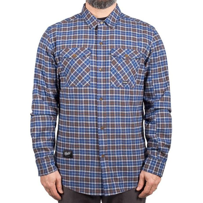 Adventure Shirt Blue & Charcoal