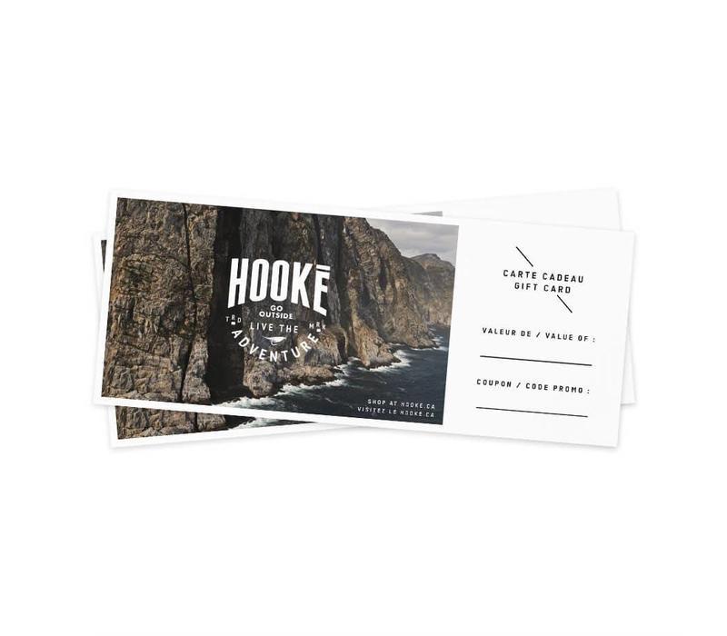 Carte-cadeau Hooké