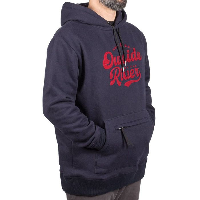 Outside By The River Hoodie Navy
