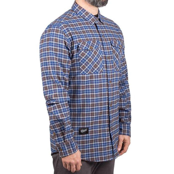 Adventure Shirt Blue & Charcoal