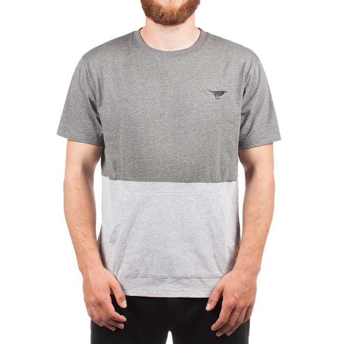 Kangaroo T-Shirt Heather Grey