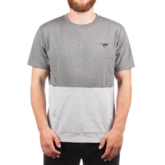 T-Shirt Kangaroo Gris Chiné
