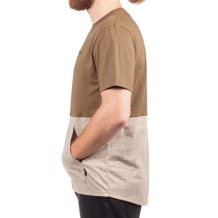 Kangaroo T-Shirt Military Green & Heather Khaki
