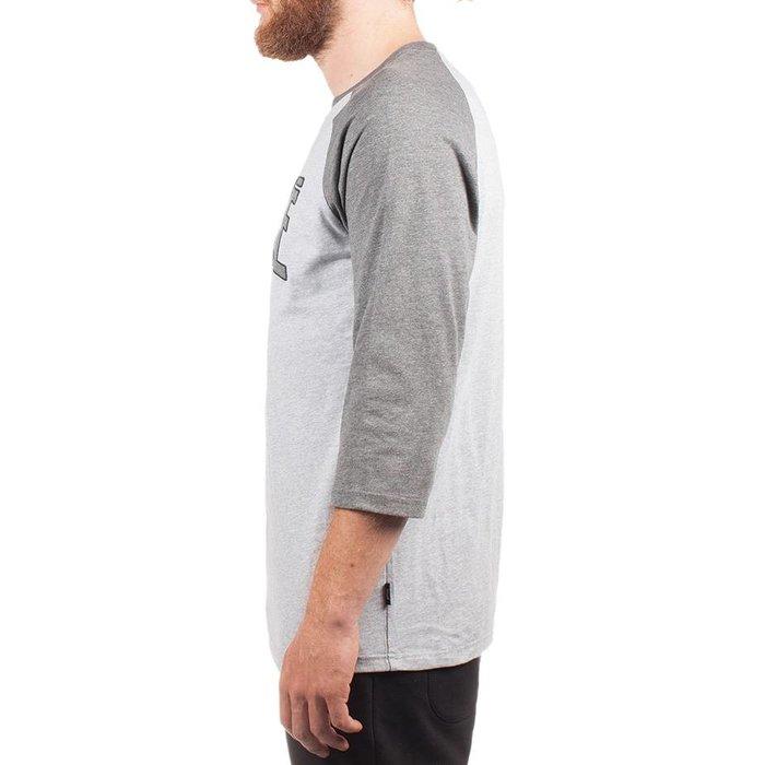 T-Shirt Hooké 3/4 Gris Chiné