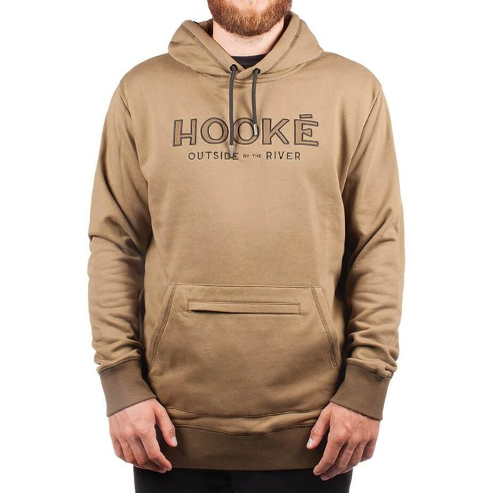Outside By The River Hoodie Military Green