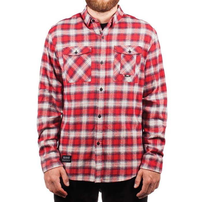 Adventure Shirt Red & Navy