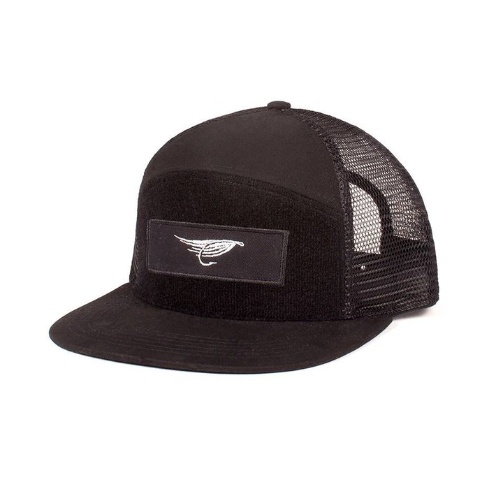Casquette Trucker Velcro Noir