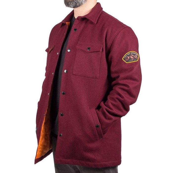 Mountain Jacket Burgundy