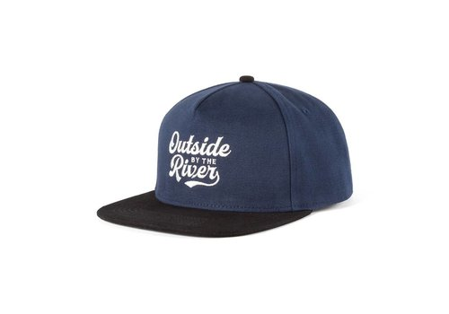 Casquette Outside By the River Marine & Noir