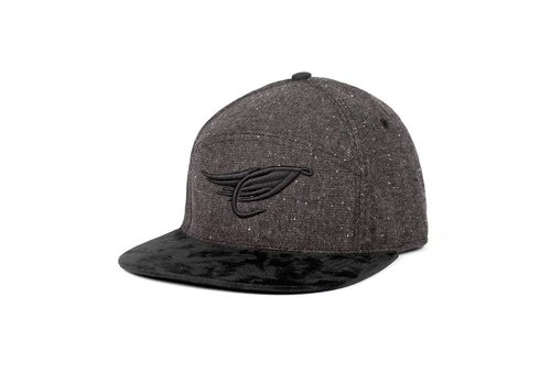 Fly Hybrid Cap Charcoal & Black