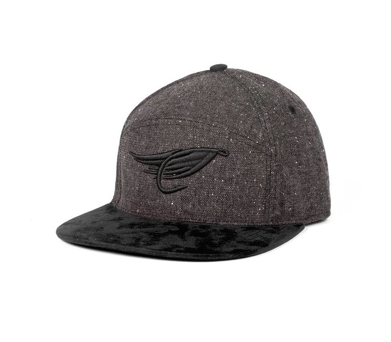 Fly Hybrid Cap Charcoal & Black