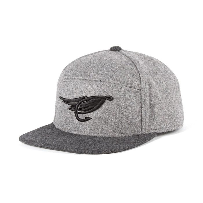 Fly Hybrid Cap Heather Grey & Black
