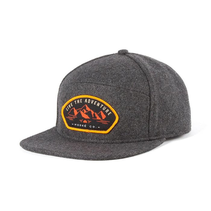 Adventure Hybrid Cap Heather Charcoal