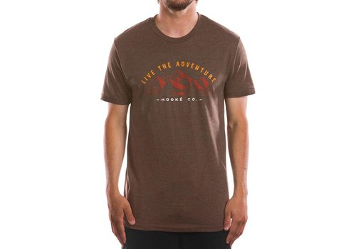 Adventure T-Shirt Heather Brown