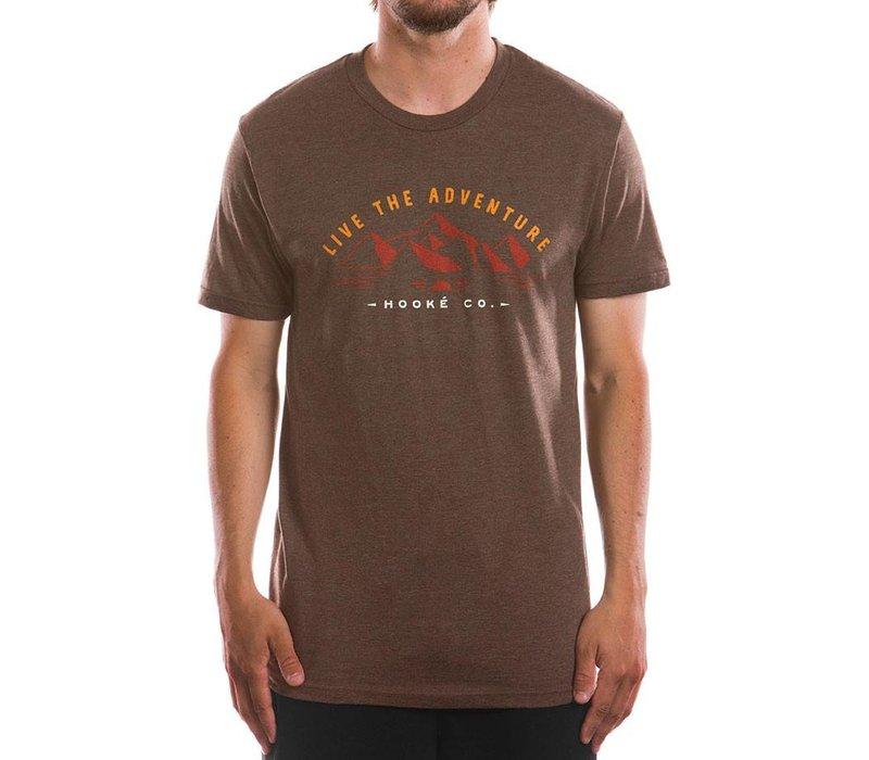Adventure T-Shirt Heather Brown