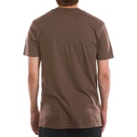 T-Shirt Adventure Brun Chiné