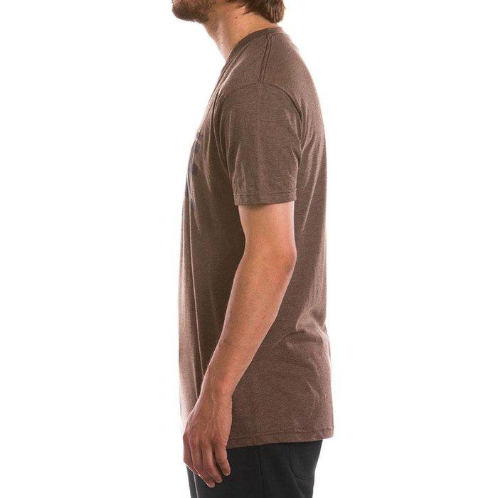 T-Shirt Original Brun Chiné