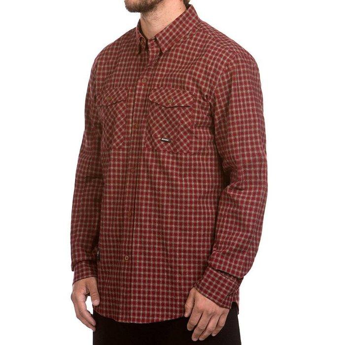 Adventure Shirt Red, Beige & Navy