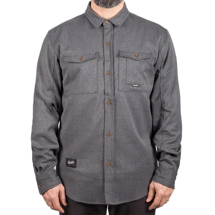 Adventure Shirt Heather Charcoal