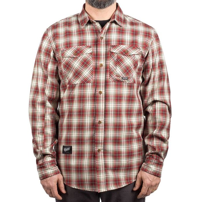 Adventure Shirt Red & Cream