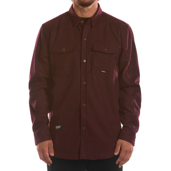 Adventure Shirt Dark Burgundy