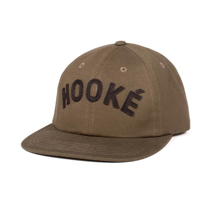 Hooké Clip Back Military Green